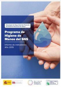 Informe de Indicadores del Programa de Higiene de Manos del SNS (año 2019)