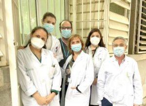 El SAS premia el modelo de seguimiento para trabajadores que han pasado el COVID-19 del Hospital Virgen Macarena