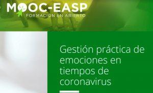 MOOC-EASP. Gestión de las emociones en tiempos de coronavirus