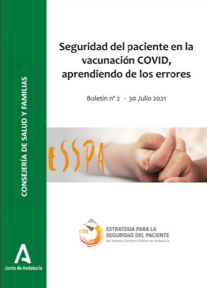 Seguridad del paciente en la vacunación COVID, aprendiendo de los errores