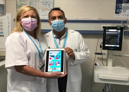 Profesionales del Hospital Regional de Málaga, finalistas de los premios 'Enfermería en desarrollo' por su APP para cuidar dispositivos venosos