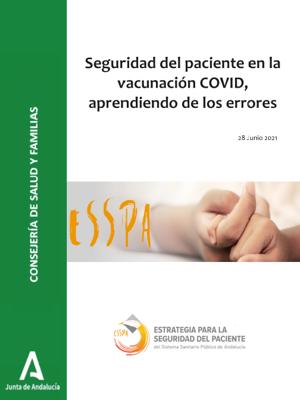 Seguridad del paciente en vacunación COVID, aprendiendo de los errores